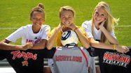 Trio of local girls soccer stars will unite at Maryland
