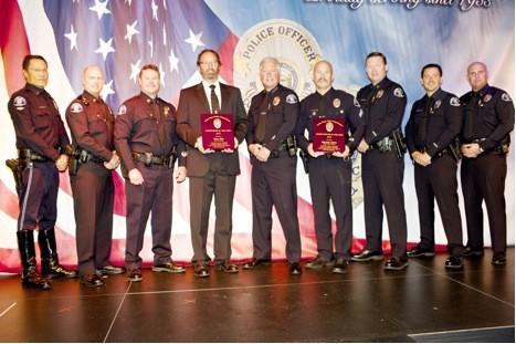 Lt. Greg Scott, Lt. Keith Davis, Capt. Les Gogerty, Sgt. Scott May, Chief Tom Gazsi, Officer Mike Cohen, Capt. Rob Sharpnack, Lt. Bryan Glass and Lt. Mark Manley.