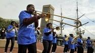 Dunbar High School resurrects marching band