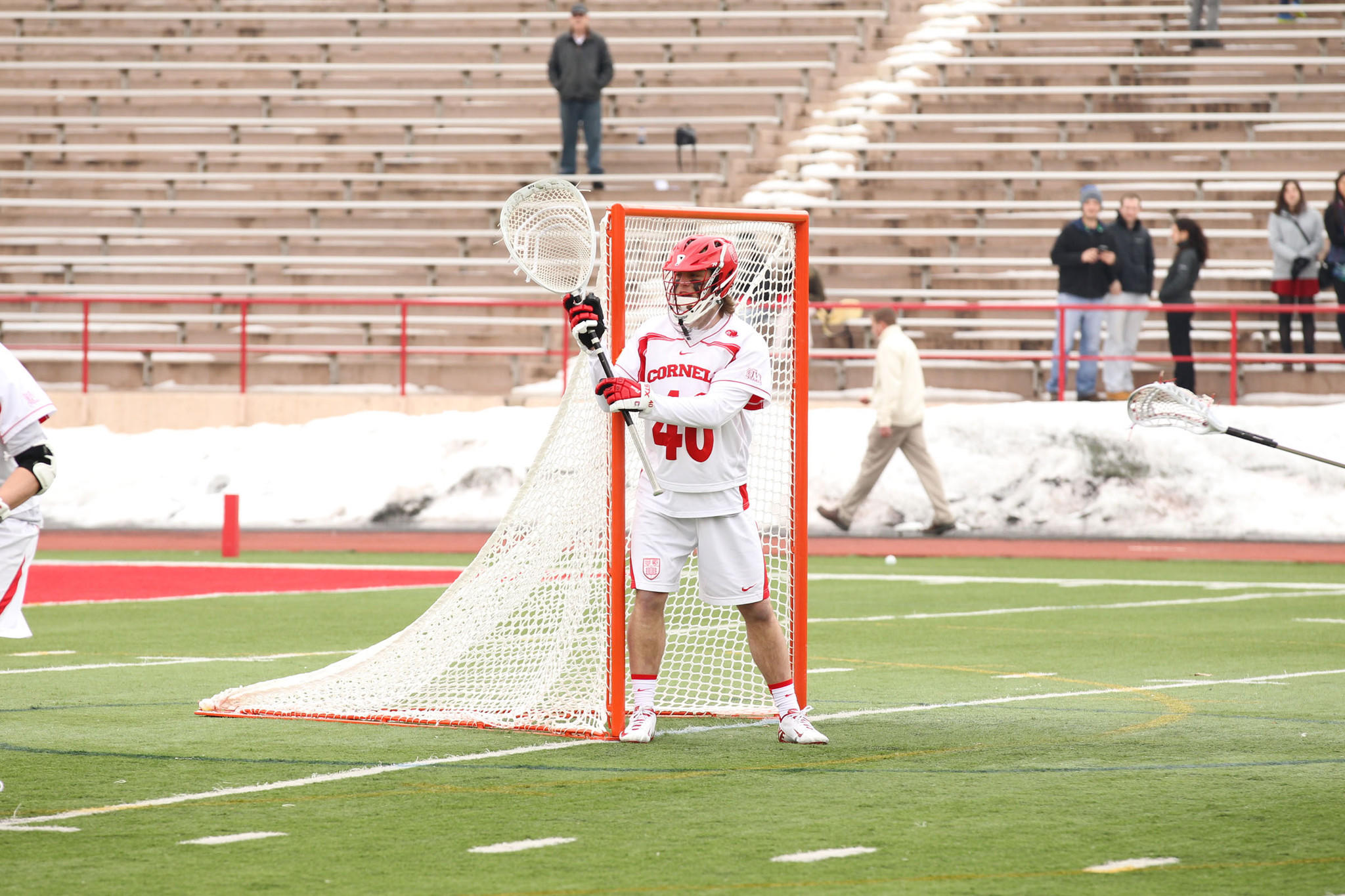 Cornell goalie Christian Knight, a Boys' Latin graduate, has won back-to-back Ivy League Rookie of the Week honors.