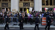 Thousands march in Occupy Wall Street protest