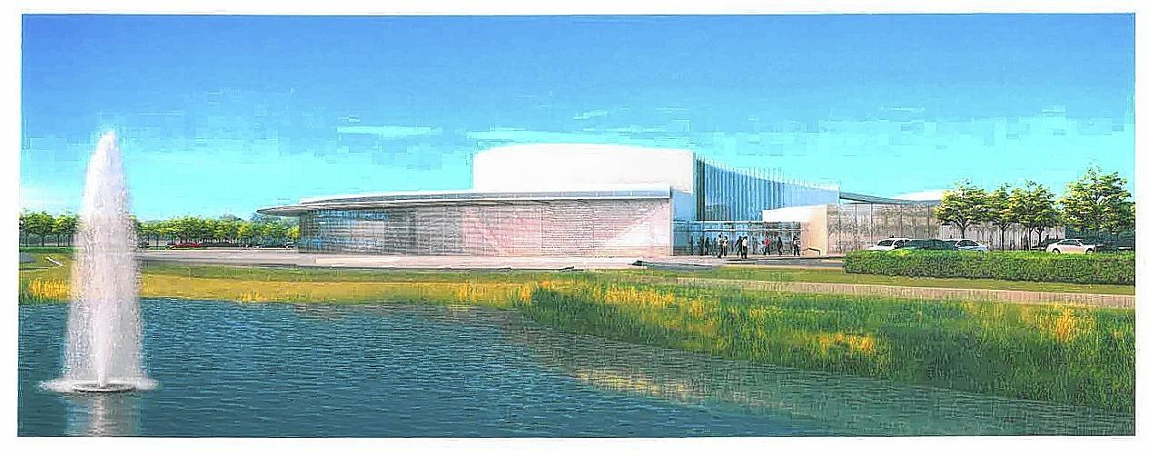A rendering shows how Willow Creek Community Church's Glenview campus could look like after it's complete.