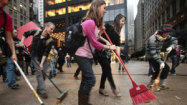 Occupy Wall Street protesters arrested during impromptu march