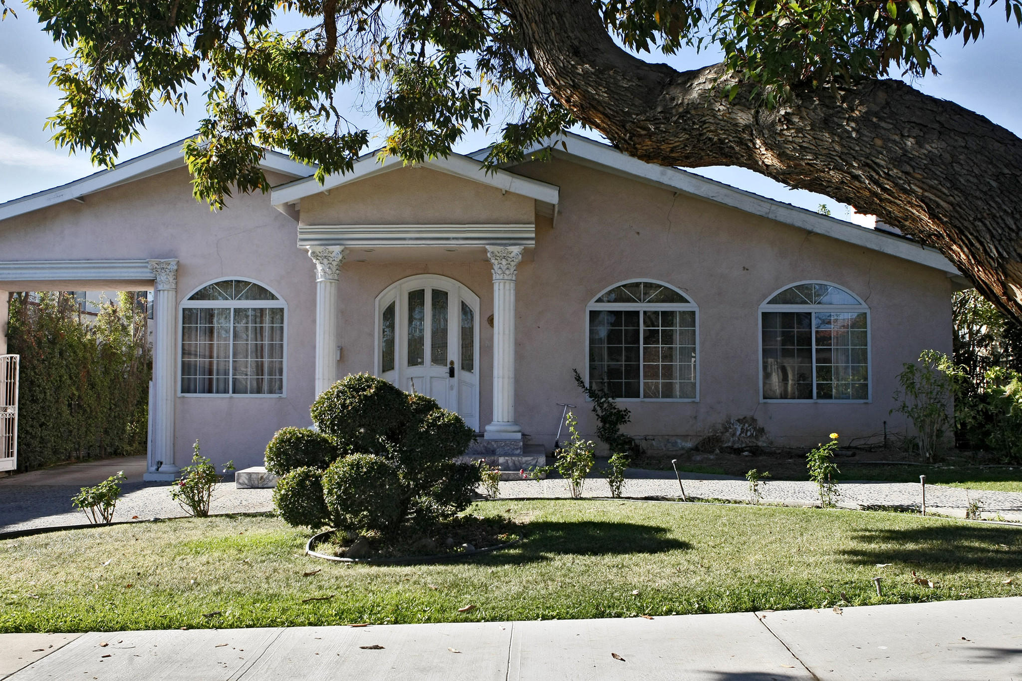 "In response to noise complaints about this Norton Avenue house in Glendale reportedly being rented out online as ""party house,"" the city of Glendale is considering an ordinance that would cite residents who have parties that are too loud."