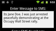 Occupy Wall Street inspires the 'I'm getting arrested' app