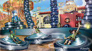 Preview: Luigi's Flying Tires at Disney California Adventure