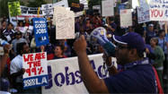Labor, immigrant groups join Occupy L.A. at rally