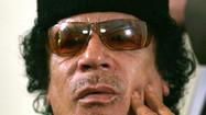 <b>Full coverage:</b> Moammar Kadafi