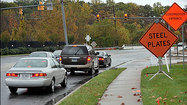 Watchdog: Traffic signal obsolete at closed road in Owings Mills