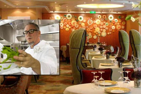 Miami chef Michael Schwartz is designing new dishes for 150 Central Park aboard Oasis of the Seas