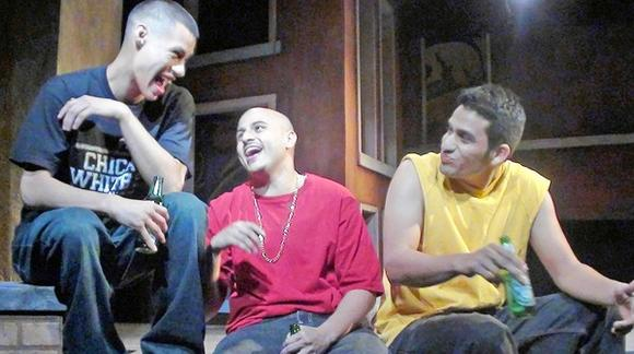 """Momma's Boyz"" is by Teatro Vista at Chicago Dramatists."