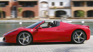 2012 Ferrari 458 Spider: Top notch from top down