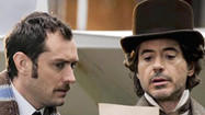 On the Set: Robert Downey Jr., Jude Law talk 'Sherlock Holmes'