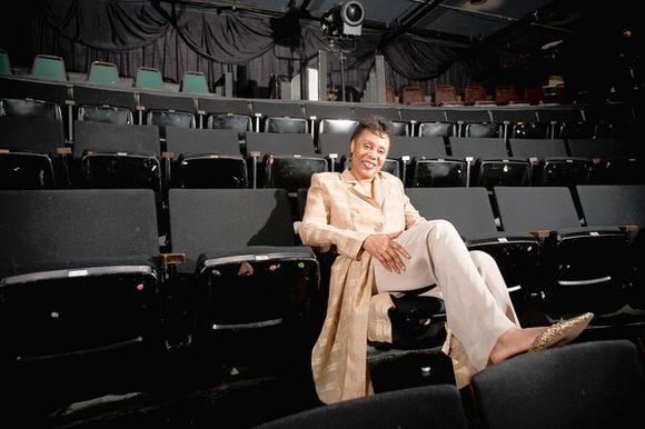 Jackie Taylor at the former Black Ensemble Theater space in 2009.