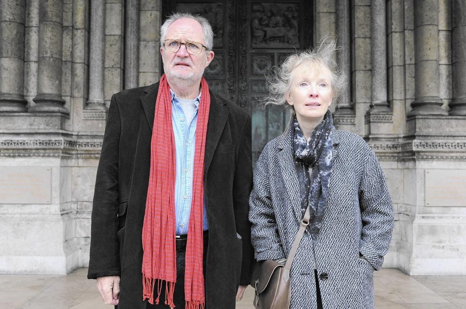 """Lindsay Duncan and Jim Broadbent in """"Le Week-End."""""""