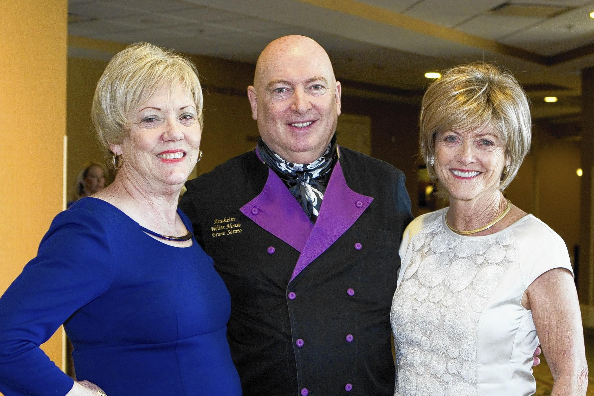 Childhelp devotee Dale San Filippo, Sir Bruno Serato, Children's Friend Award recipient, and Mary Allyn Dexter.