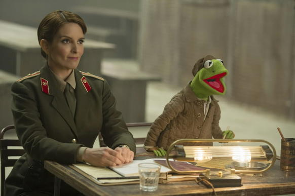 """<i> *** (out of four)</i><br> <b>What we said:</b> """"The good Muppet caper."""" <i>-- Matt Pais </i><br><br><a target=""""_blank"""" href=""""http://www.redeyechicago.com/entertainment/movies/redeye-muppets-most-wanted-review-tina-fey-20140312,0,6859130.column""""<b>Click here for our full review</a>"""