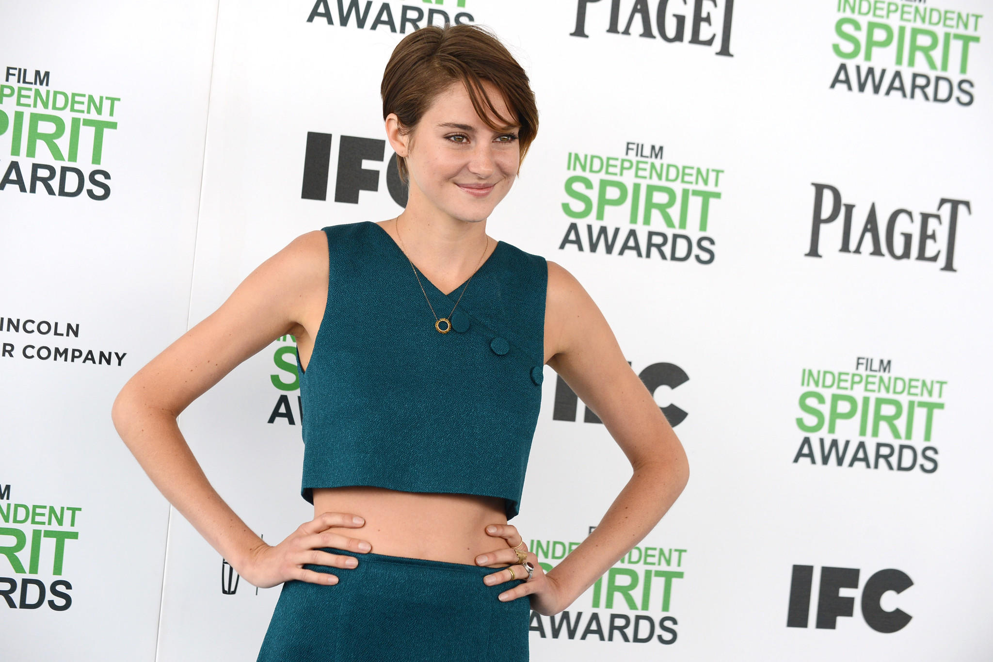 Shailene Woodley at the 2014 Film Independent Spirit Awards this month in Santa Monica.