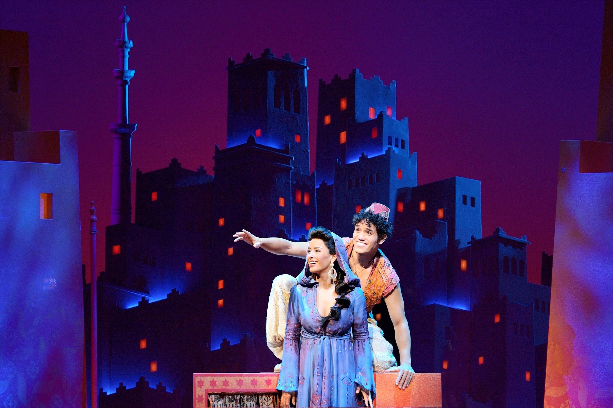 Aladdin Broadway Review Chicago Tribune