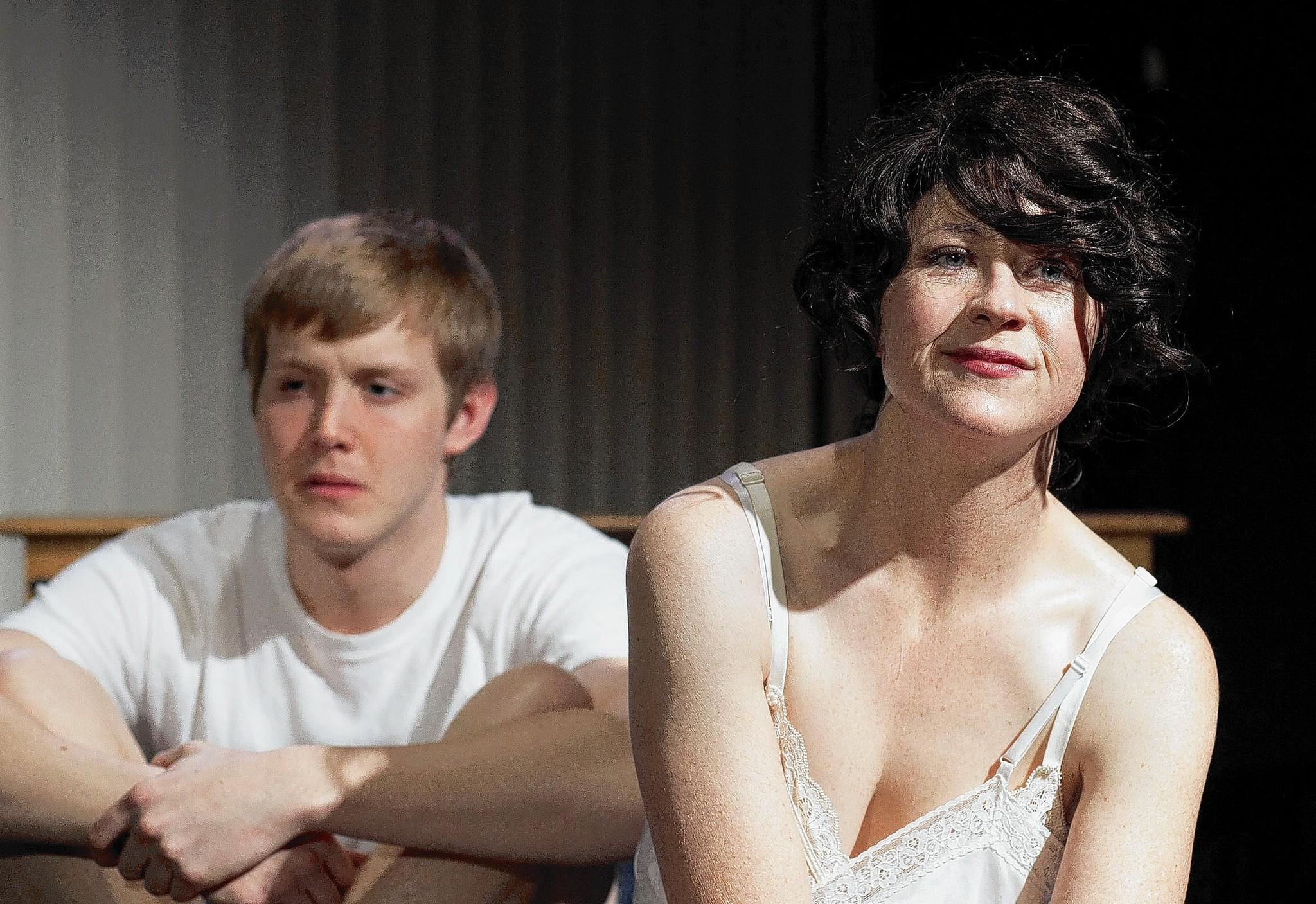 "Ian Bamberg and Rebecca Gray in ""Firemen"" at the Echo."