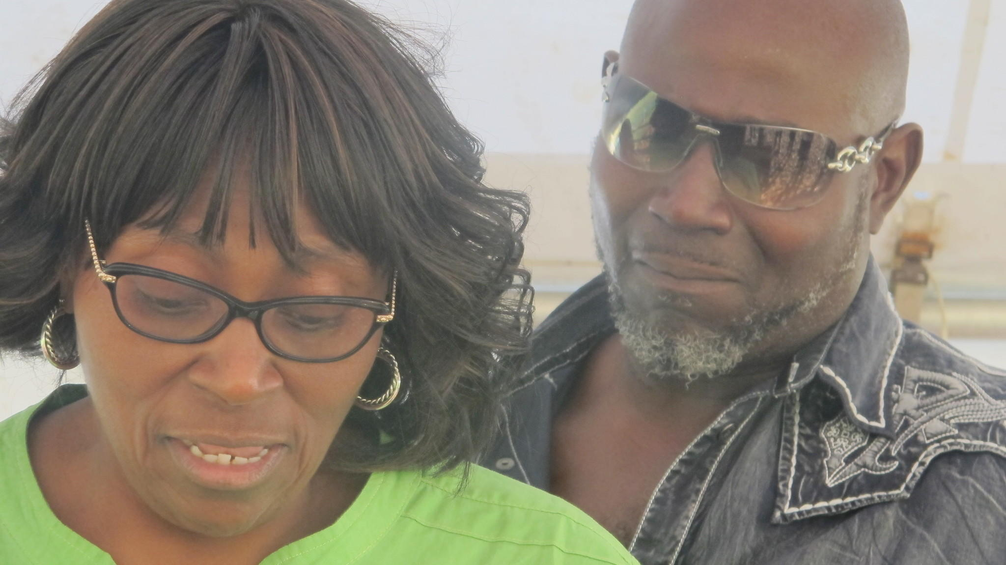 "Deborah Knights and Sal Cox, sister and brother of victim Janet Cox Thermidor, reacted emotionally after the execution of her killer. Knights read from a statement, calling Henry a ""demon from hell.'' Both siblings live in Broward."