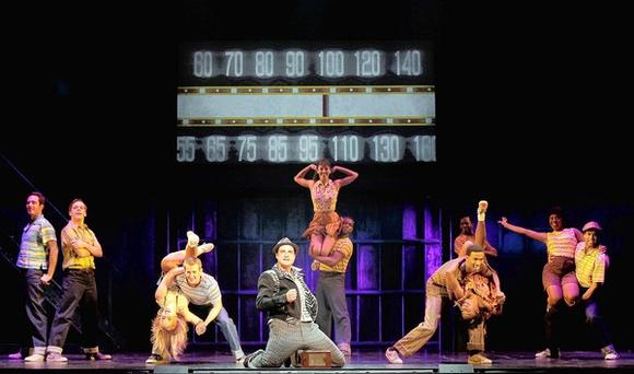 "The touring production of ""Memphis"" is at the Cadillac Palace in downtown Chicago."