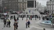 CUBICLE VACATION: 90 seconds in Trafalgar Square, London