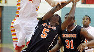 McDonogh bears down late to beat Calvert Hall, 46-44, in boys basketball