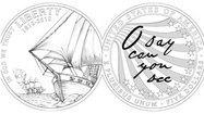 New $5, $1 coins pay homage to War of 1812, Battle of Baltimore