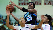 Harrison powers Digital Harbor girls past Western, 51-40