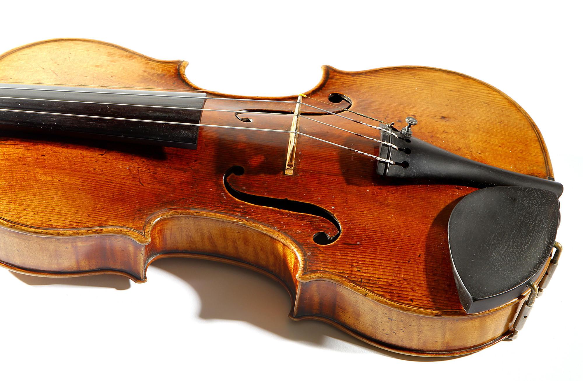 """The 1716 """"Milstein"""" Strad."""