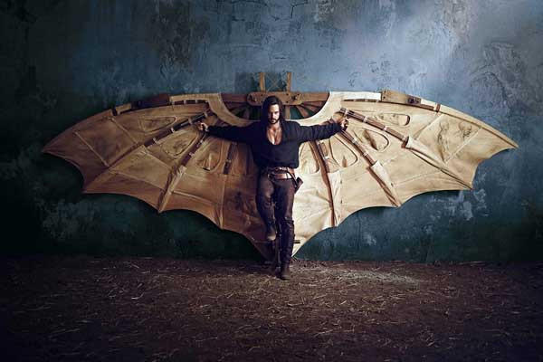 "A big gamble could help the city on a new ""Da Vinci's Demons,"" starring Tom Riley."