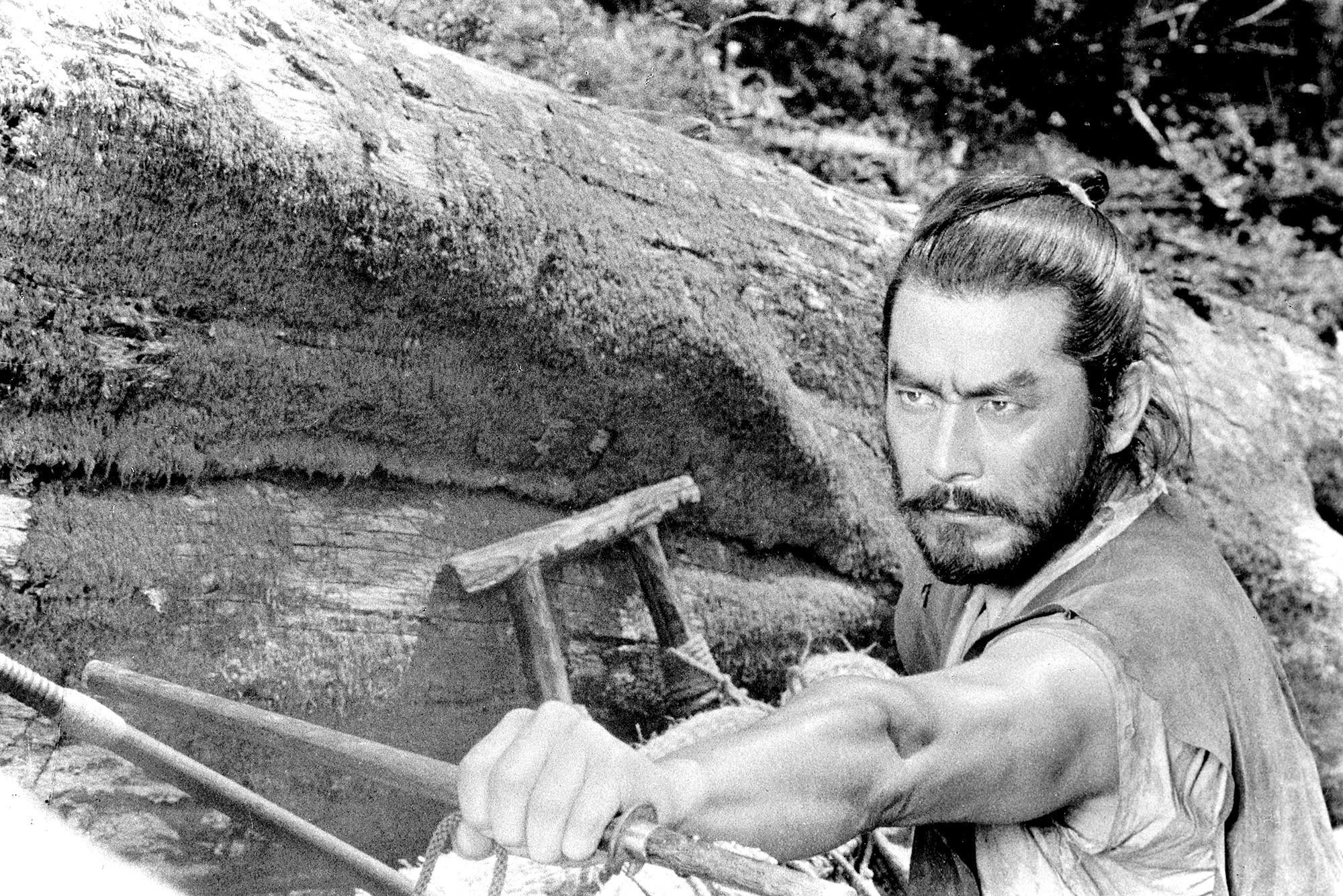 "A scene from Akira Kurosawa's ""Hidden Fortress,"" which was an influence on George Lucas' original ""Star Wars."""