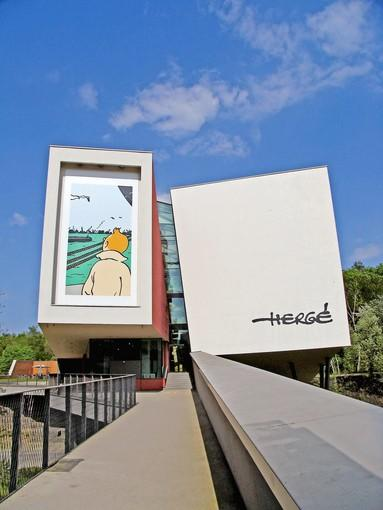 "The new Herge Museum, in Louvain-la-Neuve, Belgium, is devoted to Georges Prosper Remi, creator of ""Tintin."""