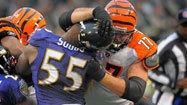 Mammoth matchup for Ravens' Suggs
