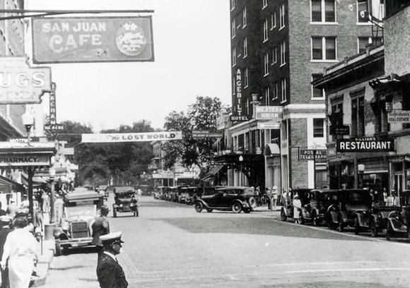 Downtown Orlando in 1925