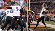 Flacco, Pitta in sync when it counted