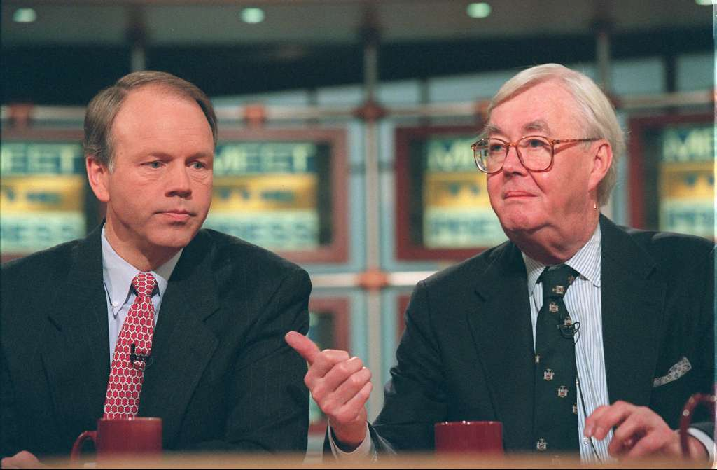 The late Sen. Daniel P. Moynihan, (D-N.Y.), right, thought annual statements would strengthen Social Security's bond with the public: any guess why they've stopped?