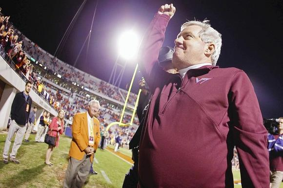 Frank Beamer caps his 25th season with an appearance in Tuesday's Sugar Bowl in New Orleans