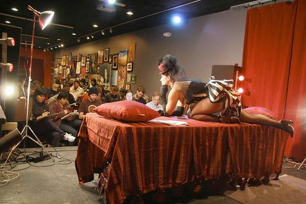 <b>Explore your artistic side</b>  <b>Dr. Sketchy's Anti-Art Show</b>  You've been meaning to brush up on your life drawing skills, right? Do it with a cocktail in hand when Sabrina Chap models for aspiring artists Jan. 23 at the Windup Space, 12 W. North Ave. Bring your own supplies (no paint), the $8 cover, cash to tip the model and your passion for the creative process. <i>drsketchysbaltimore.wordpress.com</i>