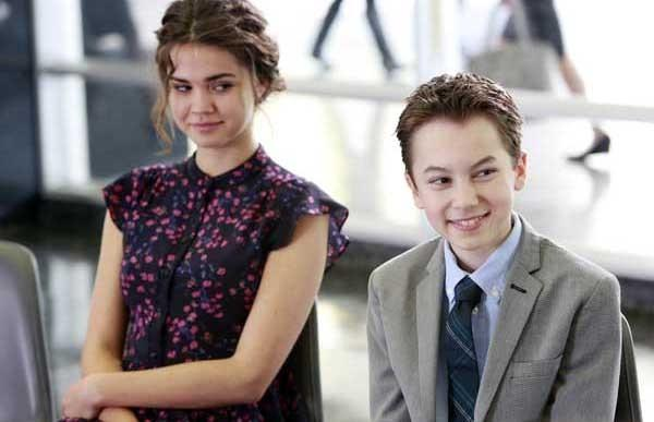 "Adoption day arrives on the season finale of ""The Fosters."" With Maia Mitchell and Hayden Byerly."