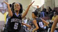 Harrison powers Digital Harbor girls to 40-37 win over Dunbar