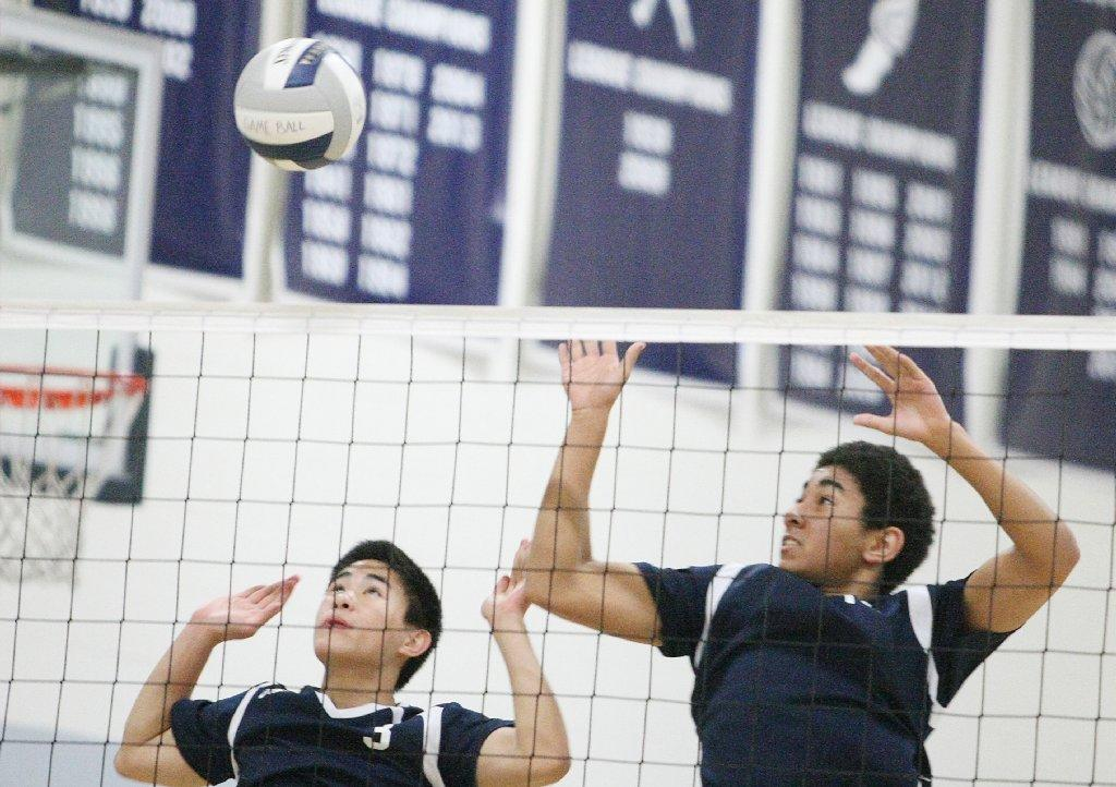 Aldridge Khin, Tyler Dill and the Flintridge Prep volleyball team swept Rio Hondo Prep on Friday.