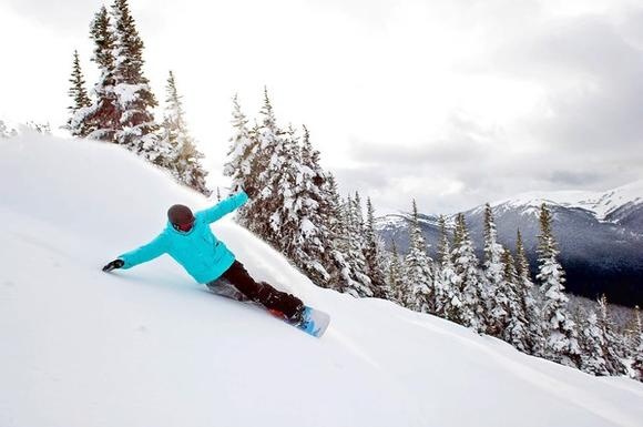 Ski season in the West: More than 17 feet of snow has fallen at Whistler Blackcomb in British Columbia, Canada, with two feet coming after Jan. 1.