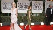 Hair takes center stage at the Golden Globes