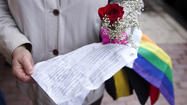 Gays and lesbians begin marrying in Michigan
