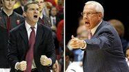 Turgeon faces his mentor Roy Williams when Terps host North Carolina