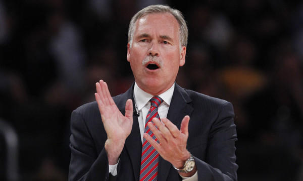 Lakers Coach Mike D'Antoni would like to see more from his young players over the final stretch of the season.