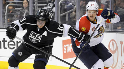 Jonathan Quick Leads Kings Past Florida Panthers, 4-0