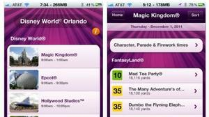 Revised iPhone app gives attraction wait times for Walt Disney World guests